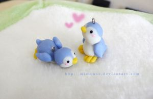 penguin charm by michouse