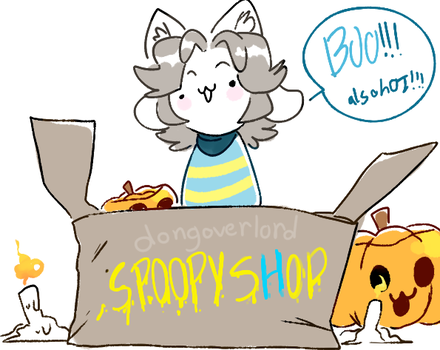 spoopy tem shop by dongoverlord