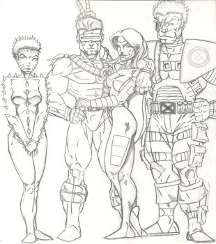 Summers Family Pencils by aithen