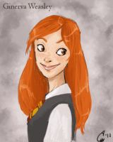 Ginny Weasley revisited by Qballthe5th