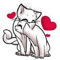 Free Valentines Kitty Base - Matespritship by ThisAccountIsDead462