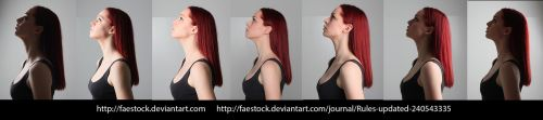 Face lighting reference 10 by faestock