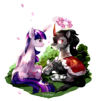 The most precious crown by TingSan