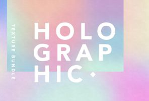 Holographic Texture Bundle by GraphicAssets
