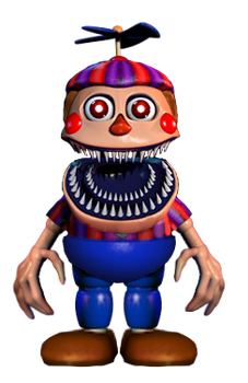 Nightmare BB mugshot beta by JoltGametravel