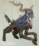Xerneas by MeiGoat