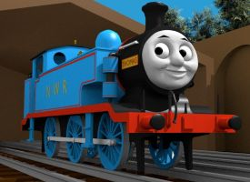 Thoms the tank engine by Sirfowler1