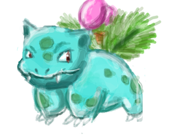 IVYSAUR by AlliCali