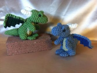 Forrest and Ocean the Dragons by Alicia1018