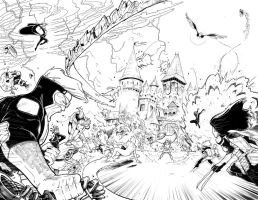 ALL NEW X-MEN PAGE TEST #01-02 by Nezotholem