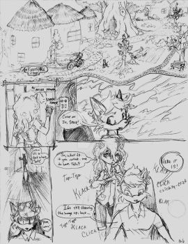 The Search For Sonic, Part 1, pg 6 (2015) by La-Nora