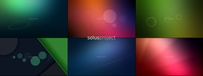 SolusProject 16:9 wallpapers by xcfdjSe7en