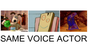 Same Voice Actor: Grommit, Plank, And Magic Carpet by KingBilly97
