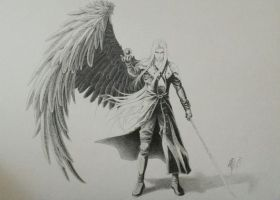 Sephiroth - Final Fantasy VII by Dango-ojousama