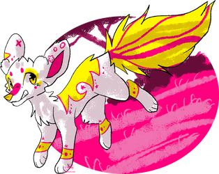 Art Fight - Attack 9 - noisy senpai by JB-Pawstep