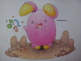 Whismur uses Uproar - finished!