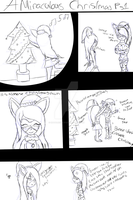 Miraculous Christmas page 1 sketch (HELP NEEDED) by NatalieGuest