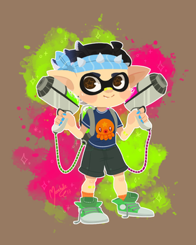 Sareo's Inkling by Marshellle