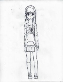 Michi Sketch by Leapoffaith4