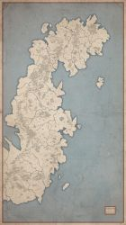 Ehros Map (Ortelius Style - Colorless Version) by Orboroth