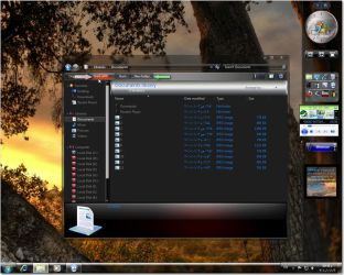 Red Metalic V3 theme for 7 by fares123