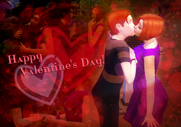 The Sims 4: Happy Valentine's Day by SimsValeria