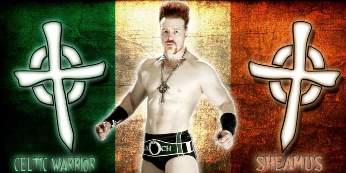 WWE Irish Born Champion by Gogeta126
