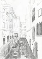 Venice Sketch by Dragimal