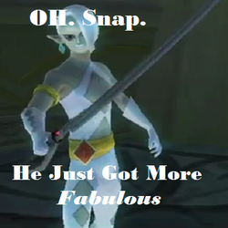 Ghirahim Fabulousness by oftheTriforce