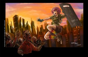 [C] - 'Sunsets and Zombies' by WMDiscovery93