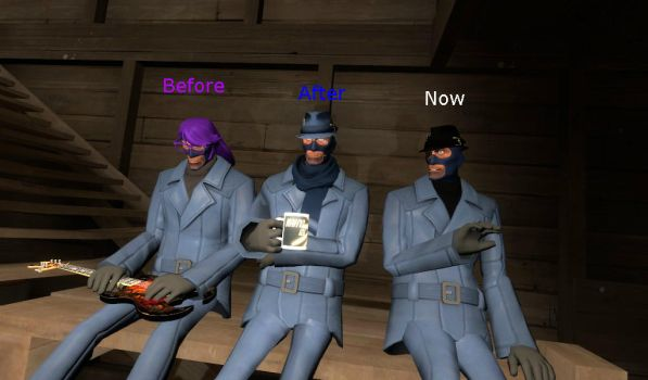 Different cosmetic from my girlfriend [GMod/TF2] by BonkBoy01