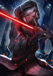 Darth Link by omegarer