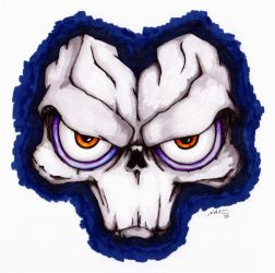 Death's Mask from Darksiders 2 by nviii-Surberus