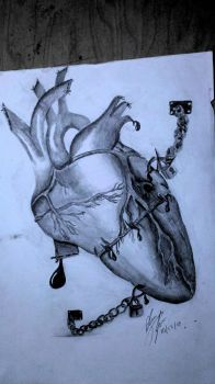 Trapped Heart by BlaneTheBrain