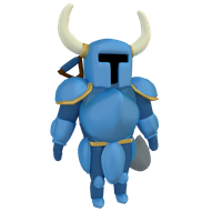 Shovel knight by SiverCat