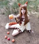 Holo the Wise Wolf - Woods by MeganCoffey