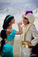 Right! A Prince Like You! - Jasmine Cosplay by Eressea-sama