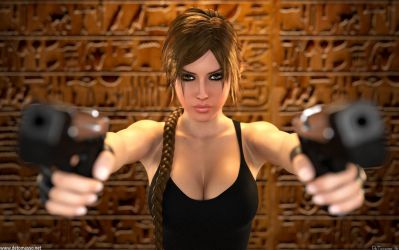 Lara Croft - Game Over by DeT0mass0