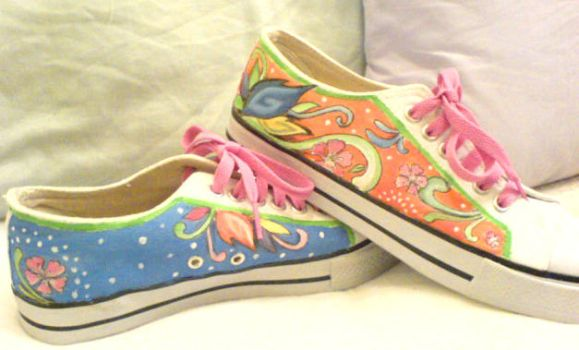 Painted Shoes 03 by olamo