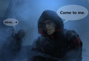 The Strain--quinlan and vaun by sher05