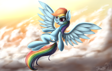 Rainbow Fly by HoodieFoxy