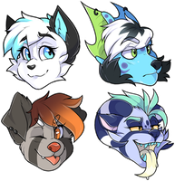headshot batch 6 by medikkuu