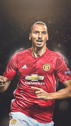 Zlatan Ibrahimovic Mobile Wallpaper by HyDrAndre