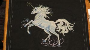 Unicorn Cross Stitch - Part 6 by SorrowsMadness