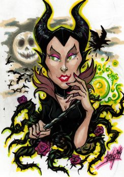 Maleficent by Djiguito