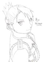 Riza Hawkeye by nightwindwolf95