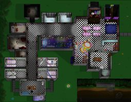A Modified FNAF 2 Map by FancySpiders