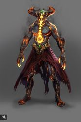 MKX- Dark Shinnok by atomhawk