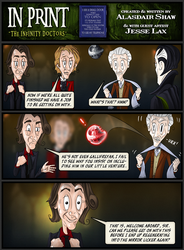 In Print, Guest Strip: Infinity Doctors 7 by AHiLdesigns