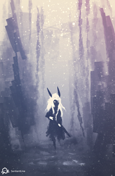 Through the Forest by SentientLine